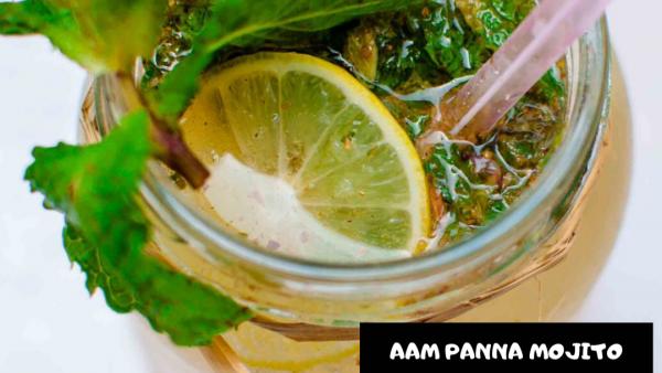 Aam Panna Mojito | Green Mango Mojito