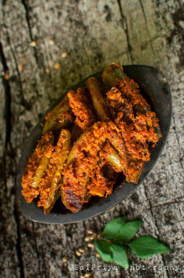 Ivy Gourd Coconut Fry Recipe | Tindora Masala