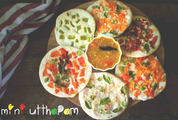 South Indian Vegetable Uttapam Recipe by My Cooking Canvas