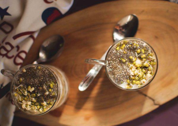 Beaten Rice Parfait Recipe | No Cook Breakfast Recipe