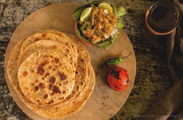 Sattu ka Paratha Recipe