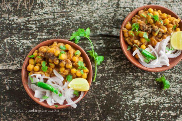 Ghuguni Chaat Recipe