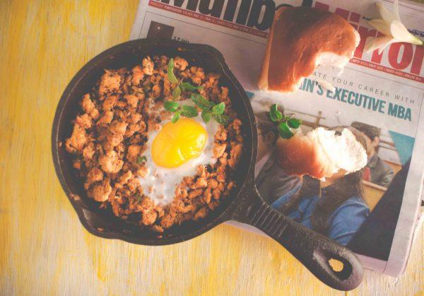 Parsi Minced Chicken Egg Recipe