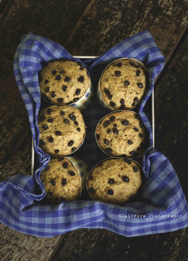 Eggless Vanilla Muffin Recipe | Easy Buttermilk Muffins
