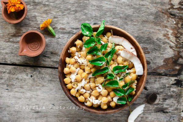 Chickpea Sundal Recipe | Healthy Chickpea Snack