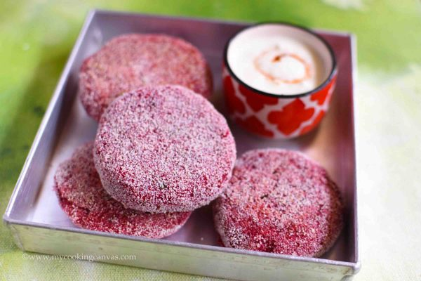 Beetroot Cutlet Recipe / Beetroot Tikki Recipe