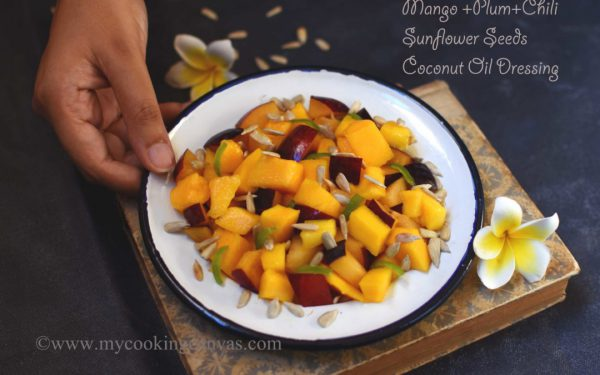 Mango and Plum Salad