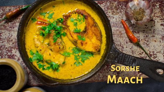 Bengali Sorshe Maach