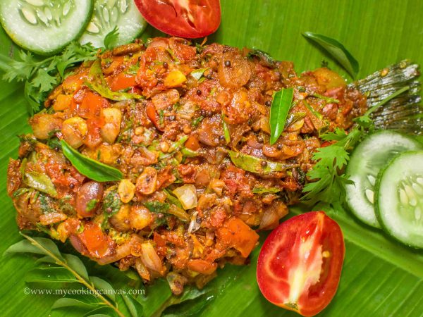 Fried Fish in Banana Leaf / Karimeen pollichathu