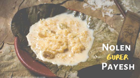 Bengali Nolen Gurer Payesh / Indian Rice Pudding
