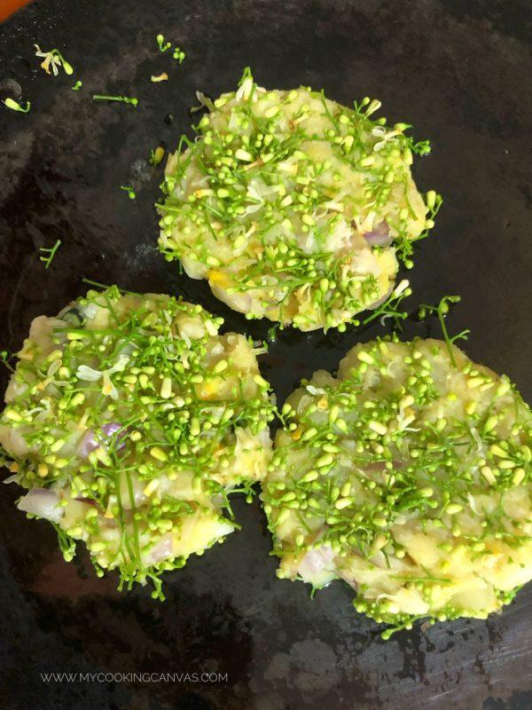 Neem Flower Cutlet Recipe