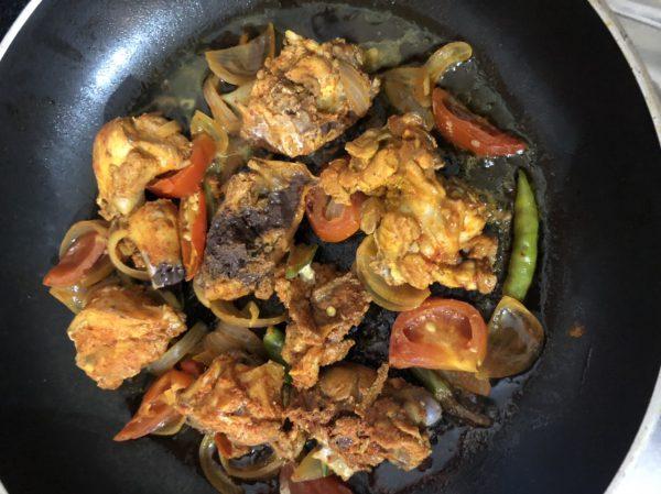Spicy Gongura Chicken Recipe | Chicken Sorrel Fry