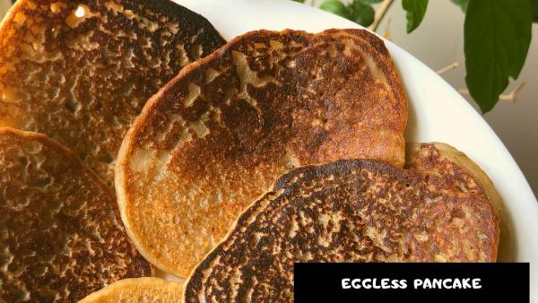 Easy Eggless Banana Pancake |Whole wheat Pancake Recipe