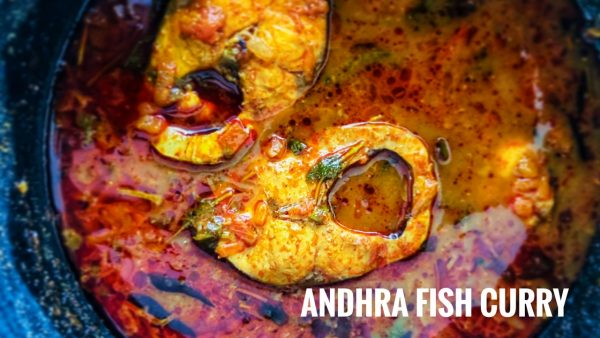 Andhra Fish Curry Recipe by My Cooking Canvas