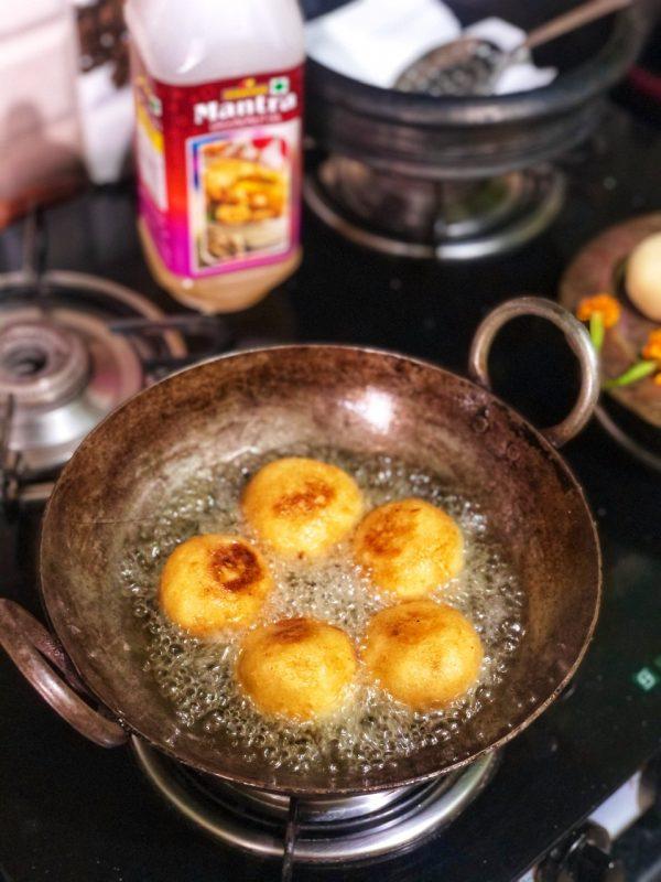 Best Suji Kakara Recipe |Odia Style Bhaja Suji Manda
